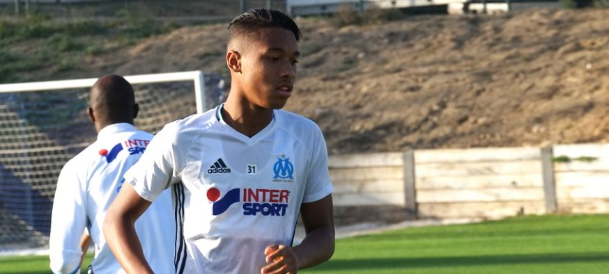 Boubacar Kamara - défenseur Olympique de Marseille - photo Footballclubdemarseille.fr