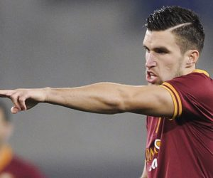 Kevin Strootman - 01.03.2014- AS Roma / Inter Milan