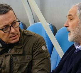 Jacques Henri Euraud et Andoni Zubizarreta - images Footballclubdemarseille.fr