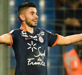 Morgan Sanson of Montpellier during the French Ligue 1 match between Montpellier and Nancy at Stade de la Mosson on November 26, 2016 in Montpellier, France. (Photo by Alexandre Dimou/Icon Sport)