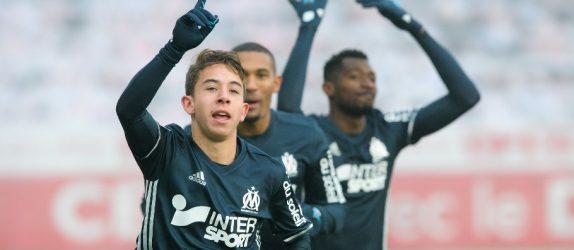 Maxime Lopez - Milieu de terrain de l'Olympique de Marseille  - OM