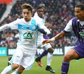 Maxime Lopez - OM - Olympique de Marseille Coupe de France - Toulouse