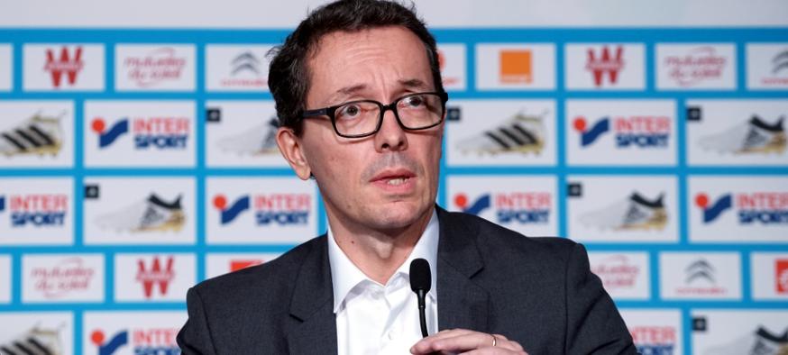 Jacques-Henri Eyraud - OM - Images Football Club de Marseille