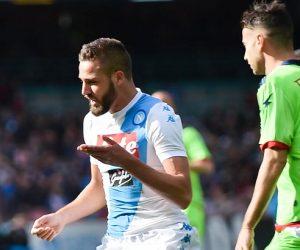 Leonardo Pavoletti  Napoli vs Crotone